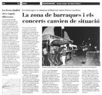 Fitxer PDF de 392208 bytes - La zona de barraques i els concerts canvien de situació